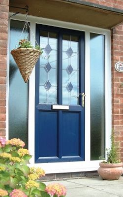 uPVC doors - in a full spectrum of colours